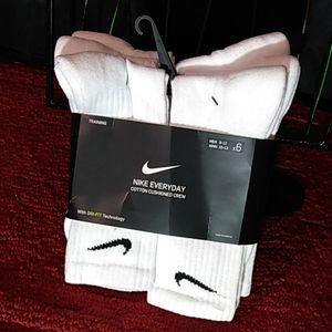 6pk Training Socks DRI-FIT
